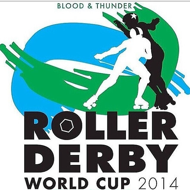 Blood & Thunder Roller Derby World Cup. Designed and Developed by B&T